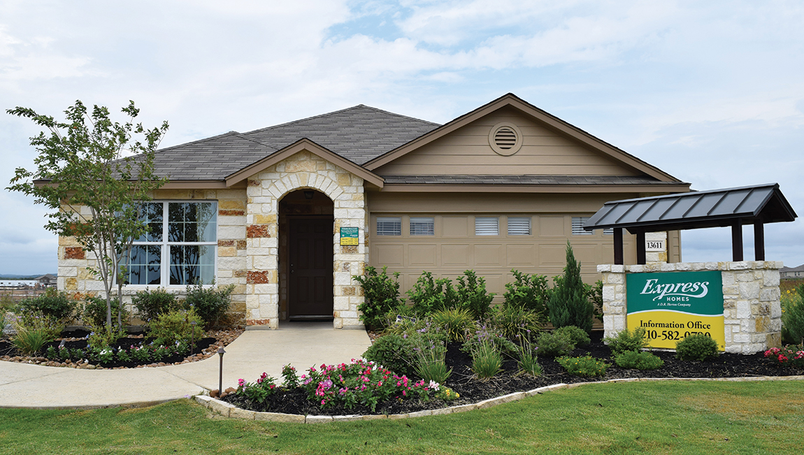 Express homes san antonio affordable homes by d r horton for Home builder company